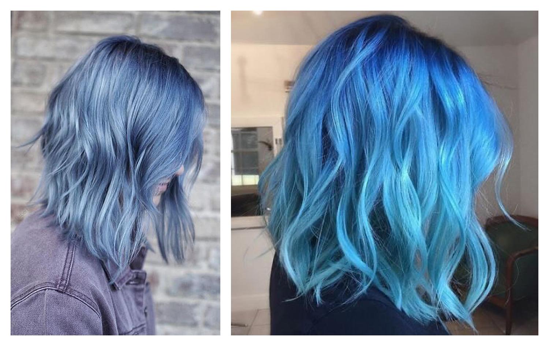 niebieskie wlosy