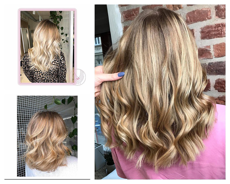 odcienie blondu salon fryzjerski krakow